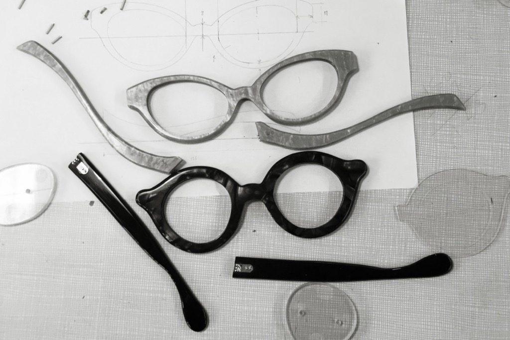 Custom Made Eyeglasses Prototype