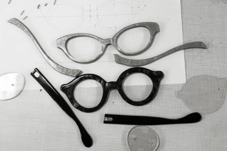 Custom Made Eyeglasses Prototype